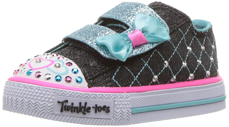Skechers Kids Kids' Shuffles-Glitter Crush Sneaker SHUFFLES-GLITTER CRUSH - K