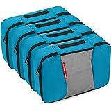 Gonex Packing Cubes Travel Organizer Cubes for Luggage 4xMedium Blue