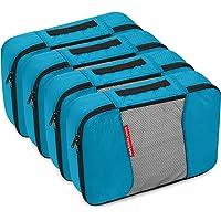 Packing Cubes 4/6 teilig - Set, Gonex robust & langlebig | Verpackungswürfel, Packtaschen, Kleidertasche, Koffer-Organizer, Aufbewahrungstasche