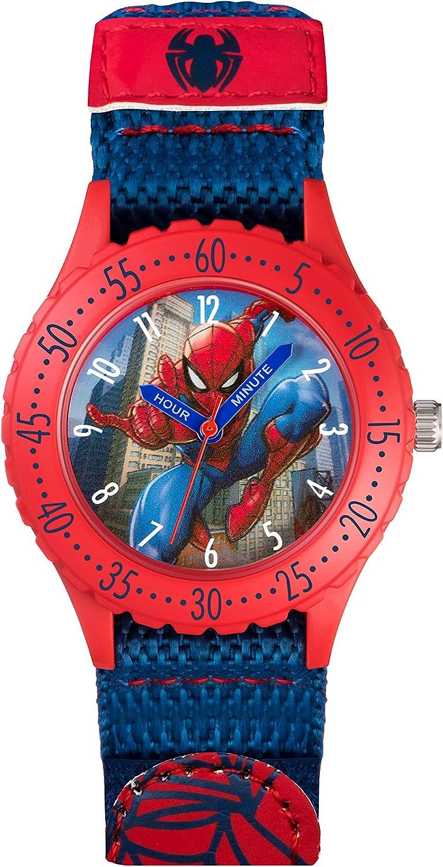 Spiderman Reloj Analógico para niños de Cuarzo con Correa en Caucho SPD3495