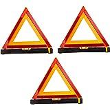 Multiprens DOTTRI Emergency Roadside Folding Warning Triangle Reflector (D.O.T. Approved)