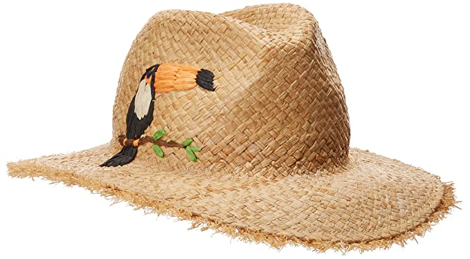 Echo Women's Excursion Panama Sun Hat, Black, One Size at