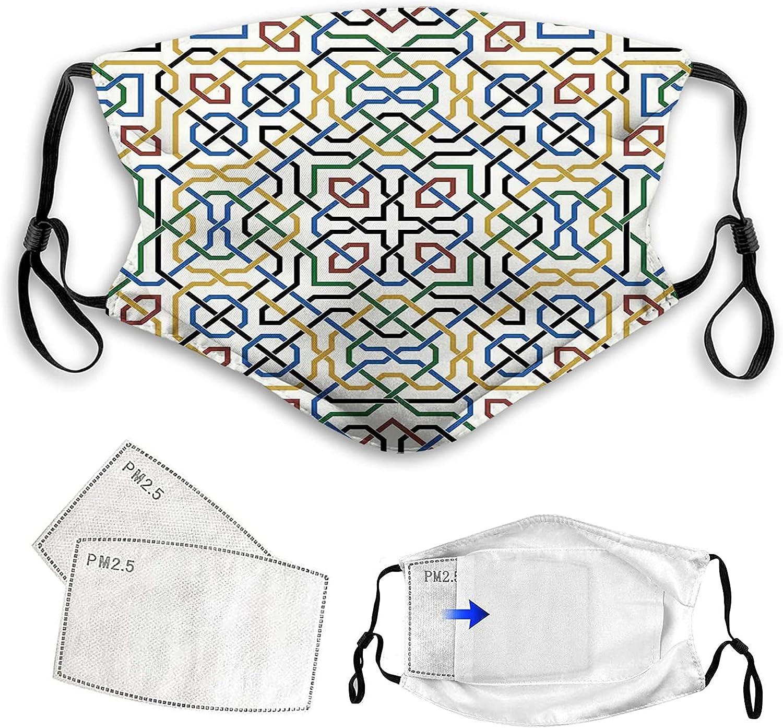 모로코 전통 무어 모티브 클래식 효과 마라케시 디자인 인쇄 여러 가지 빛깔의