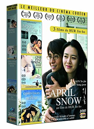 Christmas In August Poster.Amazon Com Coffret Jin Ho Hur April Snow Christmas In