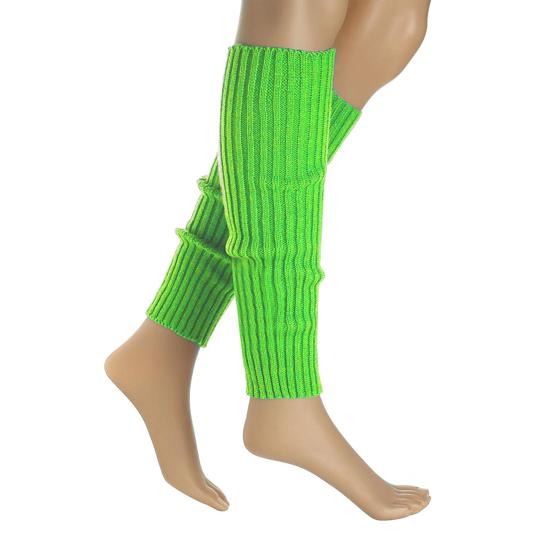 Kid 80s Waist Fanny Pack Neon Running Wristbands Leg Warmers Accessories Set