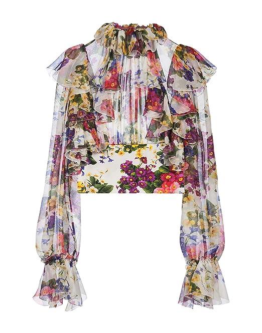 Dolce & Gabbana Mujer F72p3ths1uihap97 Seda Blouse