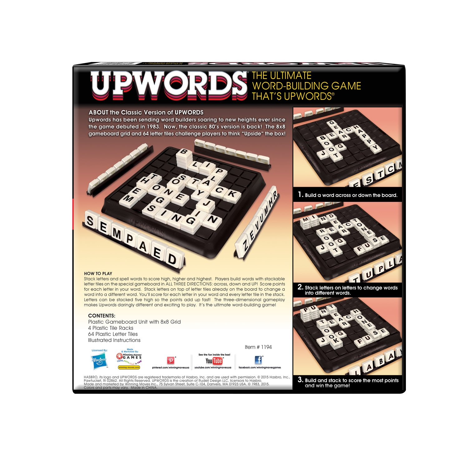 Amazon Winning Moves Games Classic Upwords The Classic 3