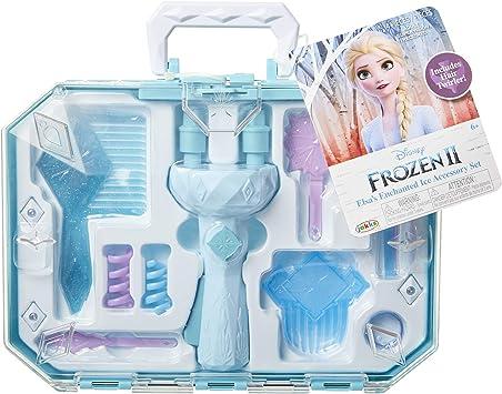 Amazon.com: Frozen 2 Elsas Hair Twirler Vanity Set de ...