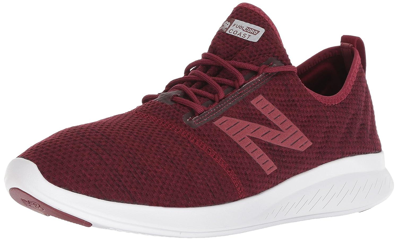 New Balance Men's Coast V4 FuelCore Running Shoe B077SGD638 7 2E US|Burgundy