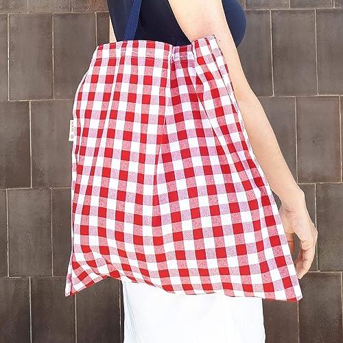 Handmade in Spain Cotton Bag. Bolso de Algodón Hecho a Mano en ...