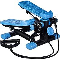 Relaxdays Stepper, verstelbare weerstand, met expander, snelheidsmeter en stappenteller (h x b x d): 170 x 31 x 33 cm…