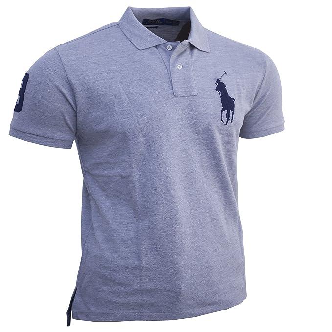 827459affe3a8d Polo Ralph Lauren Herren Poloshirt Custom Fit Größe S-XXL (XXL