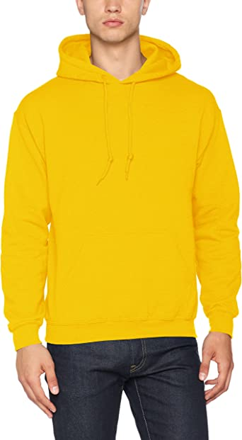 1 Safety Orange Gildan G18500 Heavy Blend Adult Hooded Sweatshirt XL 1 White