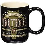 Laid Back CF1324 Vintage Dude Coffee Mug, 14-Ounce