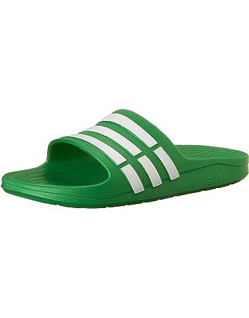 cheaper 15a7a c9384 adidas Duramo Slide K, Zapatos de Playa y Piscina para Niñas