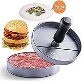 E-PRANCE Pressa per Hamburger/Pressa Stampa Di Burger/Burger Press, Bistecchiera per Preparare Hamburger in Alluminio, Stampo Antiaderente, Ideale per Barbecue