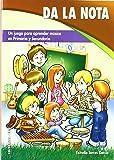 Da la nota: Un juego para aprender música en Primaria y Secundaria (Pentagrama) - 9788498421859