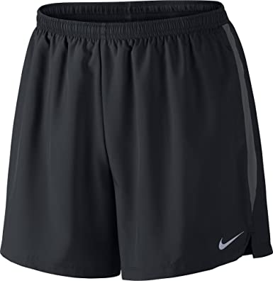 Nike Performance Challenger  Sports Shorts Black/Anthracite/Reflective Silver : Nr1729