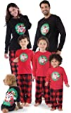 PajamaGram Looney Tunes Fleece Matching Family Pajamas, Red/Black