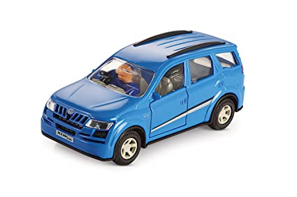 Buy Deal Bindaas Shinsei Mahindra Xuv 500 Pull Back Cars Blue