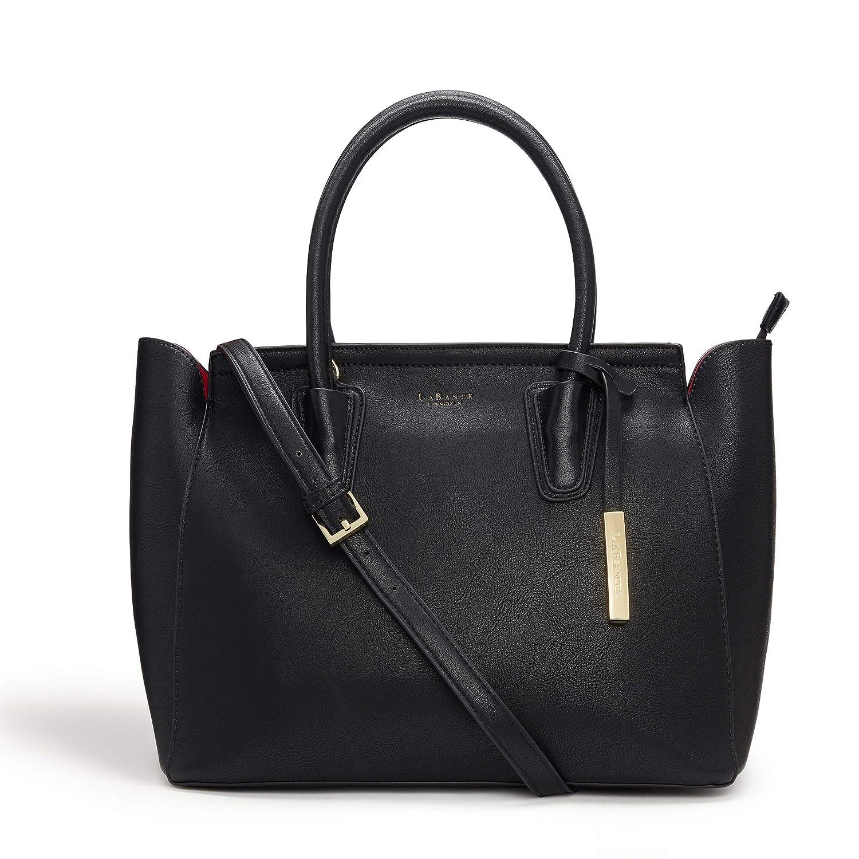ddde3395da LaBante - Tote Bag Women - Grant- Black Handbag Work Bag Laptop Bags for  Women