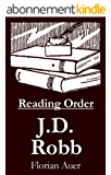 J.D. Robb - Reading Order Book - Complete Series Companion Checklist (English Edition)