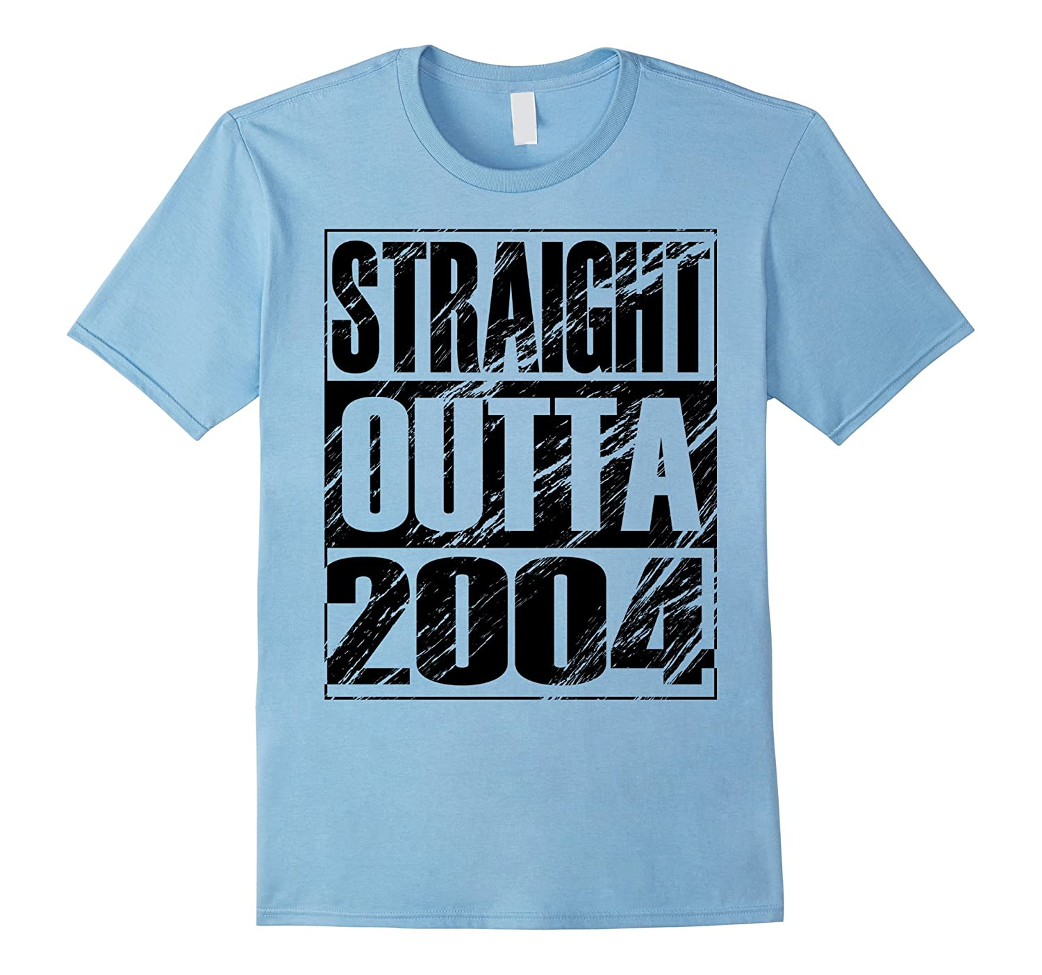 Funny Straight Outta 2004 13th Birthday T-shirt Vintage Gift-Art