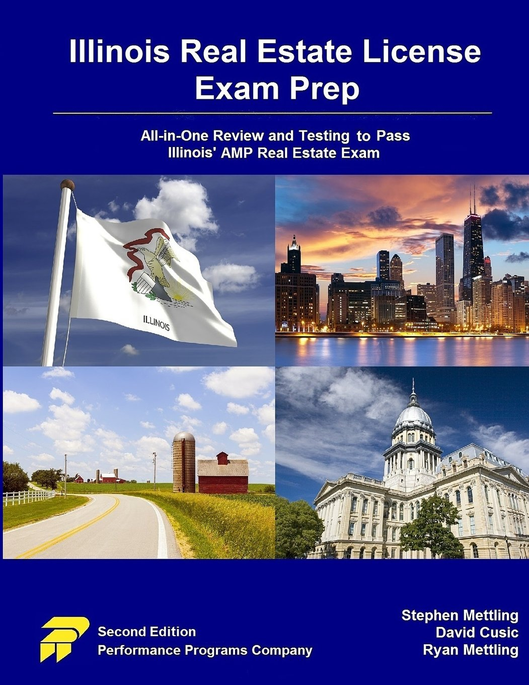 Download Illinois Real Estate License Exam Prep: All-in-One Review and Testing To Pass Illinois' AMP Real Estate Exam ebook