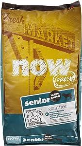 Now! 152512 Fresh Grain Free Large Breed Senior Dog Food, 25-Pound Bag