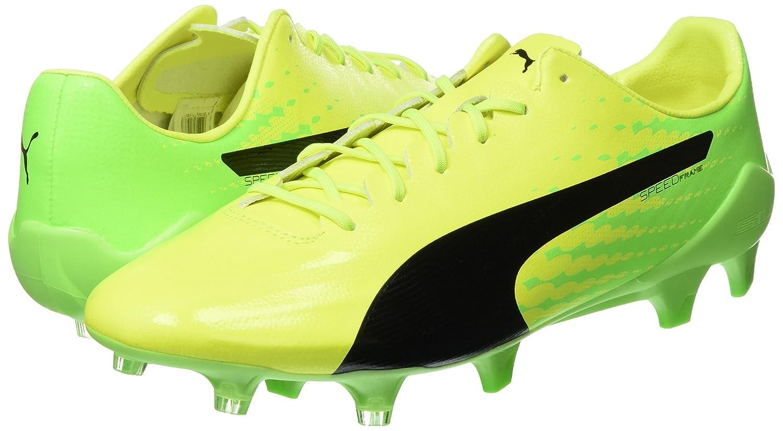 Puma Herren Evospeed 17 SL S FG Fußballschuhe, Gelb (Safety Yellow Black-Green Gecko 01), 40.5 EU