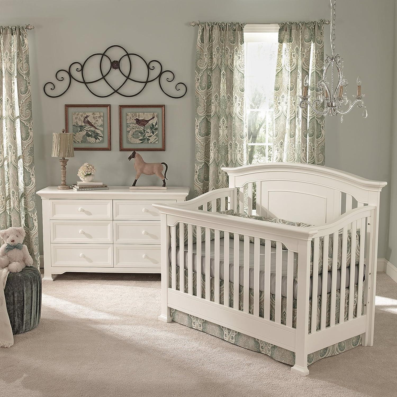 Amazon Centennial Medford Lifetime 4 in 1 Crib White Baby