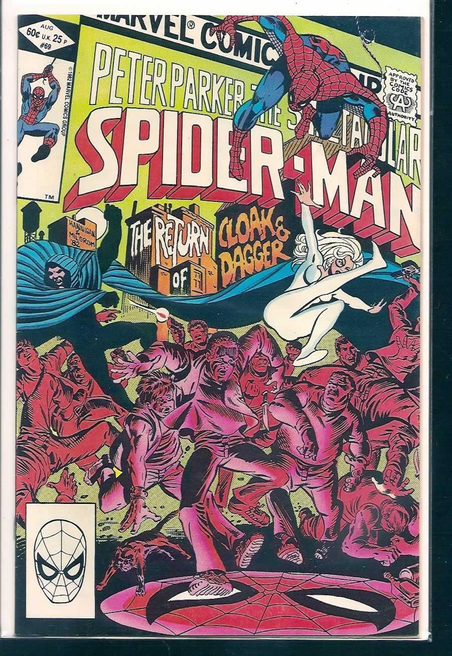 SPECTACULAR SPIDER-MAN # 69, 6.0 FN PDF