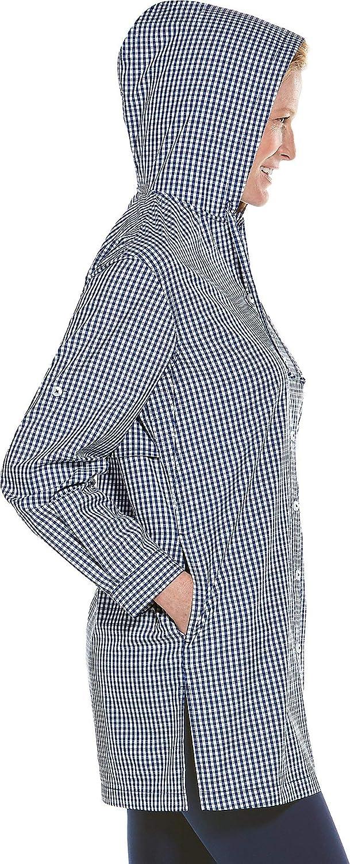 Womens Iztapa Beach Shirt Coolibar UPF 50 Sun Protective