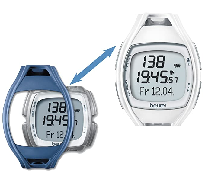Amazon.com: Beurer PM 45 Heart Rate Monitor Reloj: Sports ...