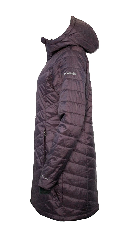 ab713bb112cc3 Columbia Women s Morning Light II Omni Heat Long Jacket Coat Puffer XK0051  larger image