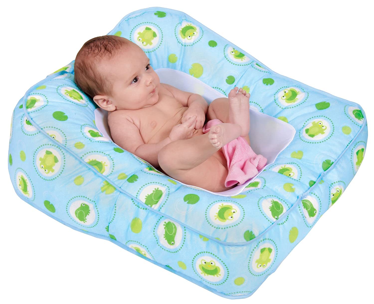 Amazon.com : Leachco Flipper 2-Way Baby Bather -Frog Pond : Baby ...