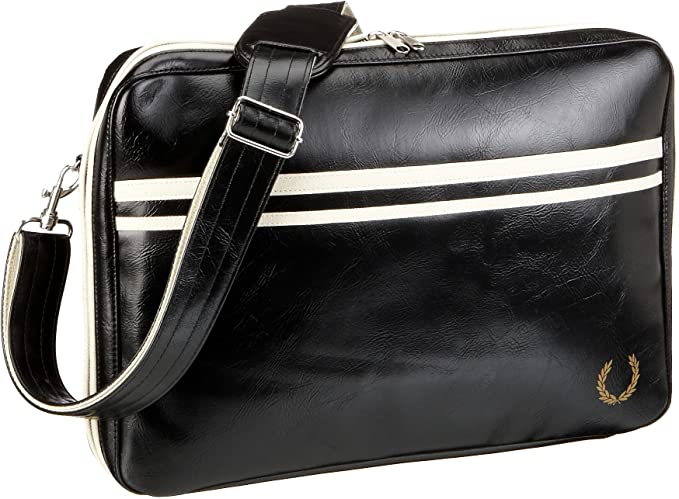 sävyt 100% aito varastossa Fred Perry Mens Laptop Bag, Black, One Size: Amazon.in ...