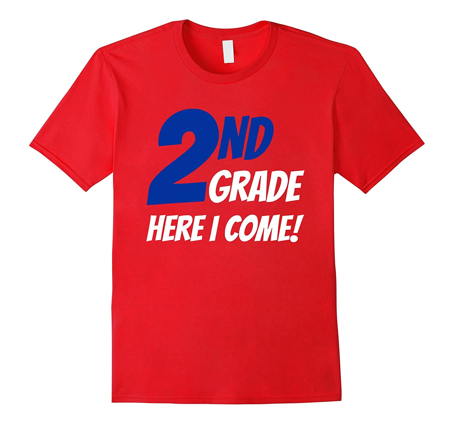 2nd Grade Here I Come Childrens T-Shirt-TH