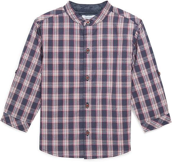 Bout Chou – Camisa Cuello Mao de Cuadros – bebé niño ...