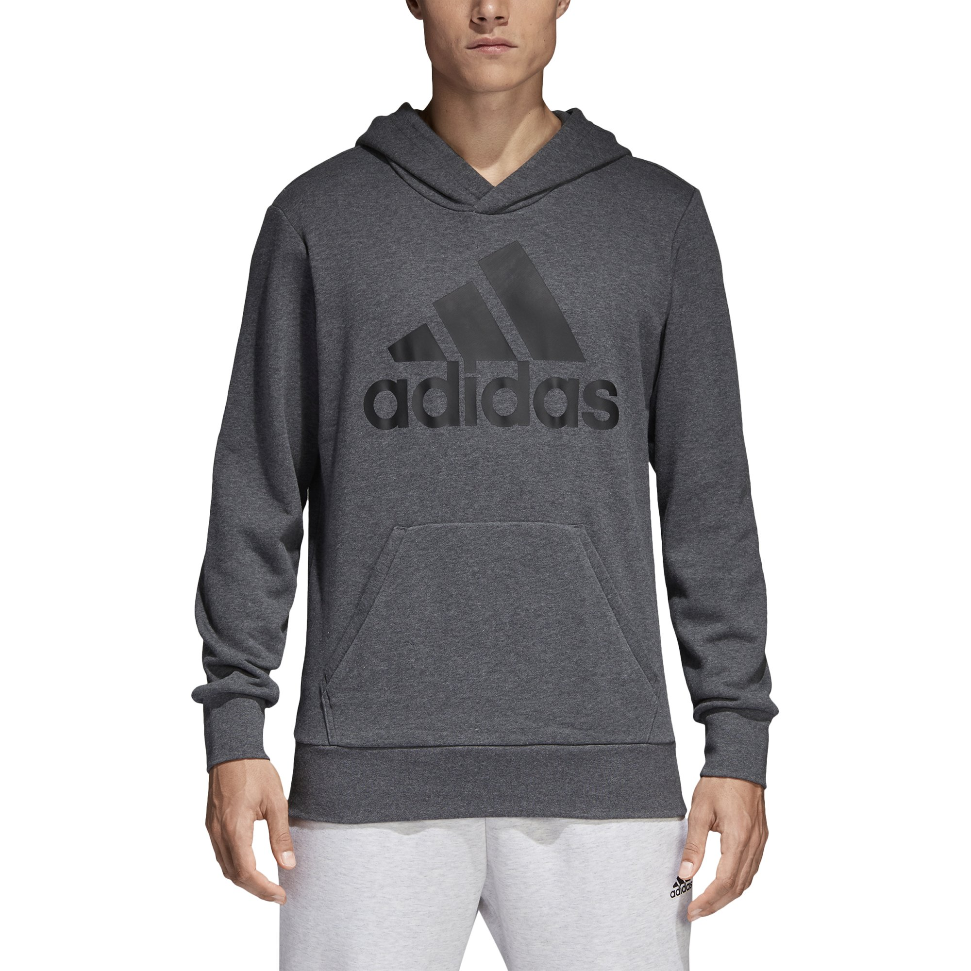 adidas Mens Essential Lin Po FT, Grey, XX-Large by adidas