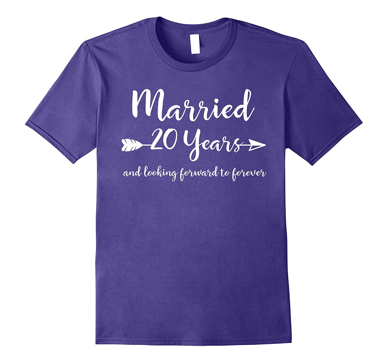 20th Wedding Anniversary Gift T-Shirt Him Her Couples Tee-ah my shirt one gift