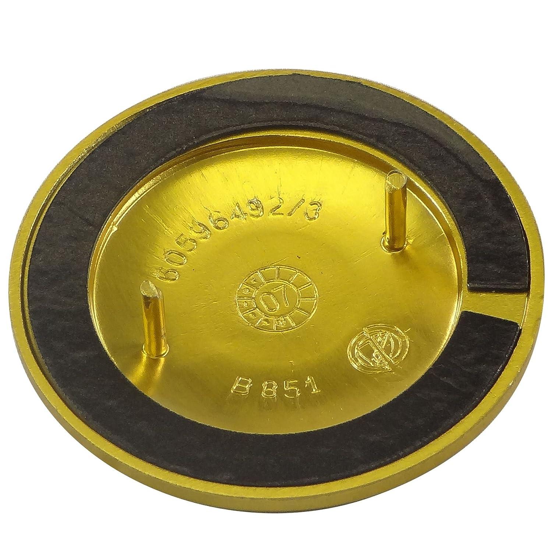 Insignia de Alfa Romeo para rejilla de parachoques delantero/capó, pieza original 60596492: Amazon.es: Coche y moto
