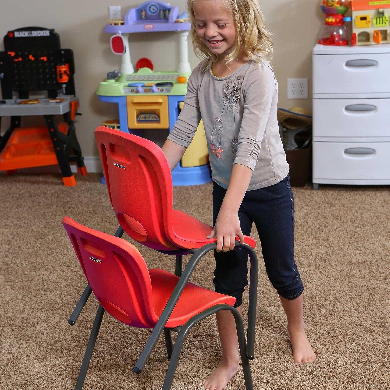 LFT Kid Chair Silla Infantil Apilable Rojo Lifetime