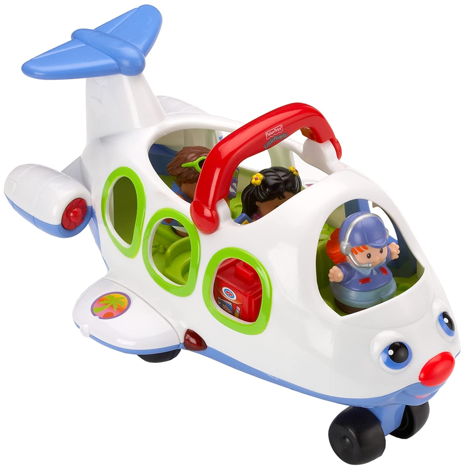 Fisher Price Little People J0895 Little Movers Airplane Amazon