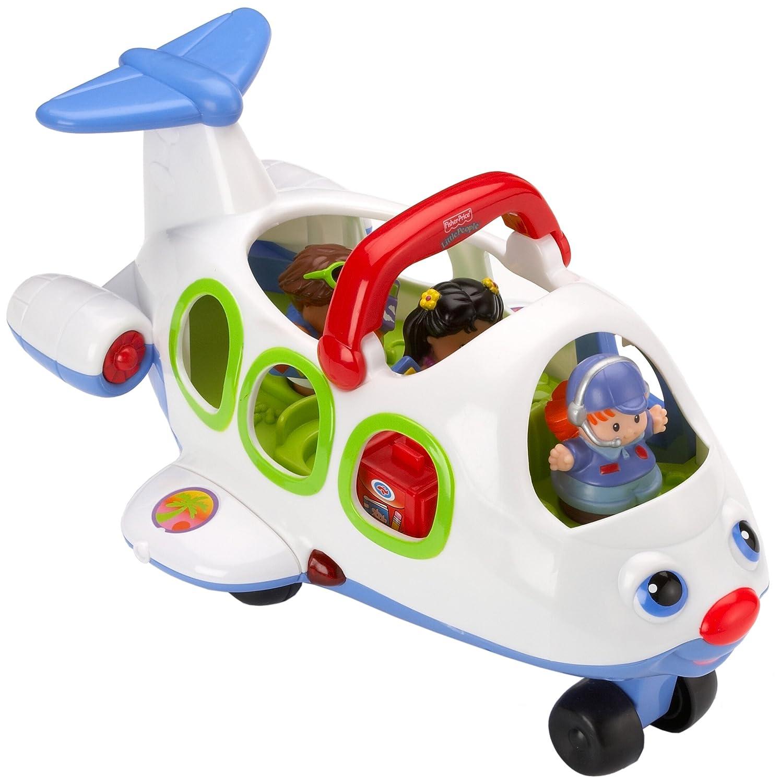 Mattel J0895 0 Fisher Price Little People Flugzeug inkl drei