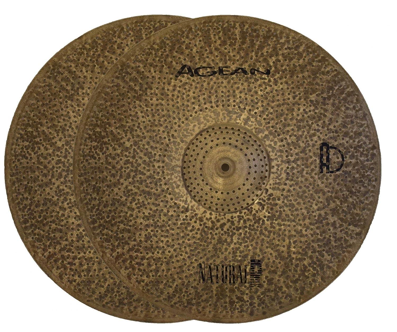 格安販売の Agean Cymbals R-Series Natural R-Series Cymbals 14-inch Low Natural Volume Hi-Hat B07NCWS7C1, ユナイテッド コレクション:ecaa200c --- a0267596.xsph.ru