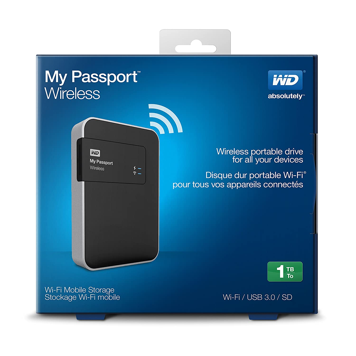 Western Digital WDBK8Z0010BBK-EESN WD My Passport: Amazon.co.uk ...