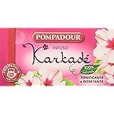 Pompadour Infuso Karkade' - 20 filtri - [confezione da 3]