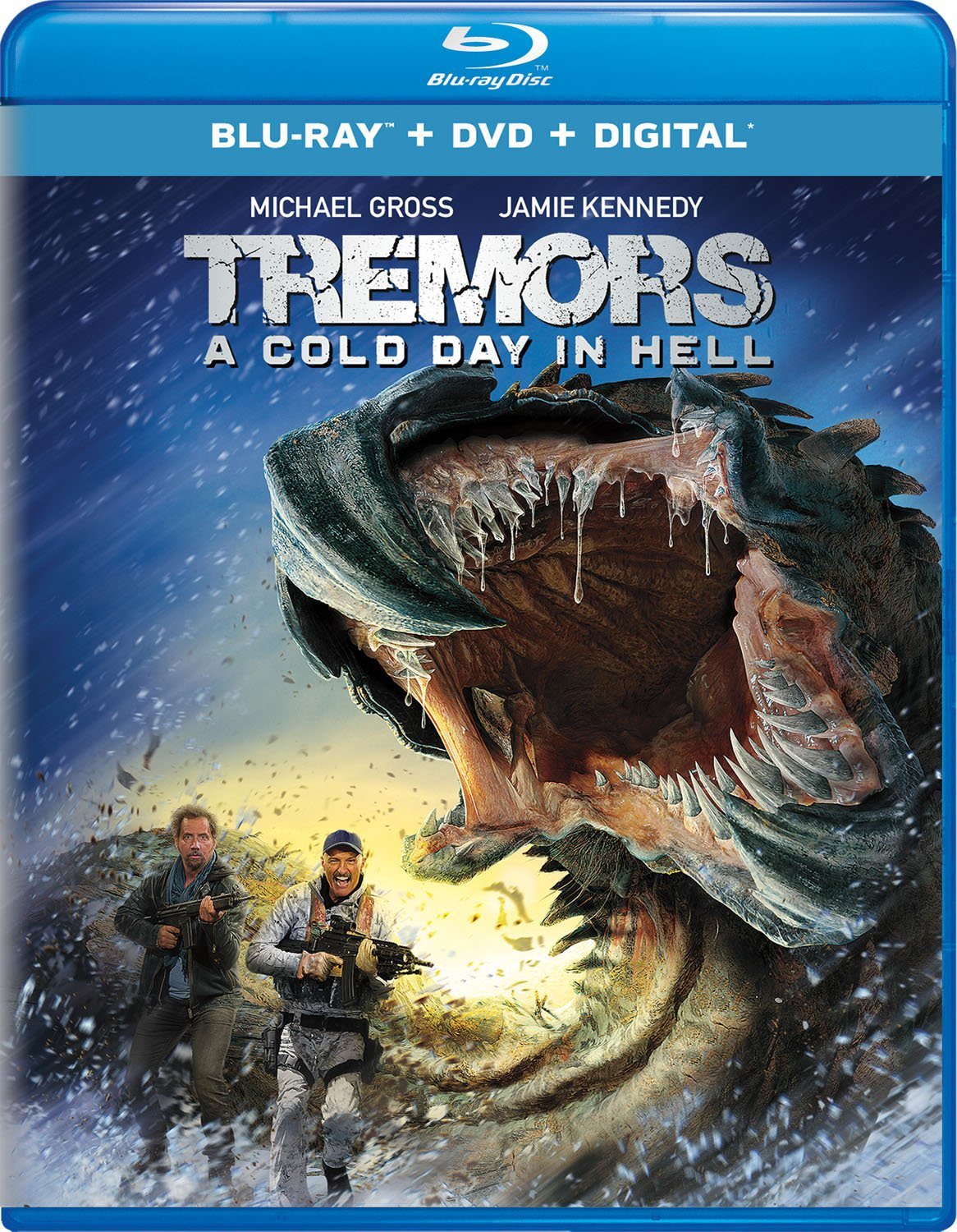 Amazon.com: Tremors: A Cold Day in Hell [Blu-ray]: Jamie Kennedy ...