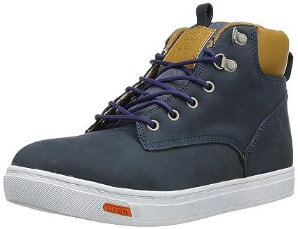 94191465059 Scruffs Men's Mistral Safety Boots - EN safety certified - Navy, Size 7,  Blue, 7 UK (41 EU)